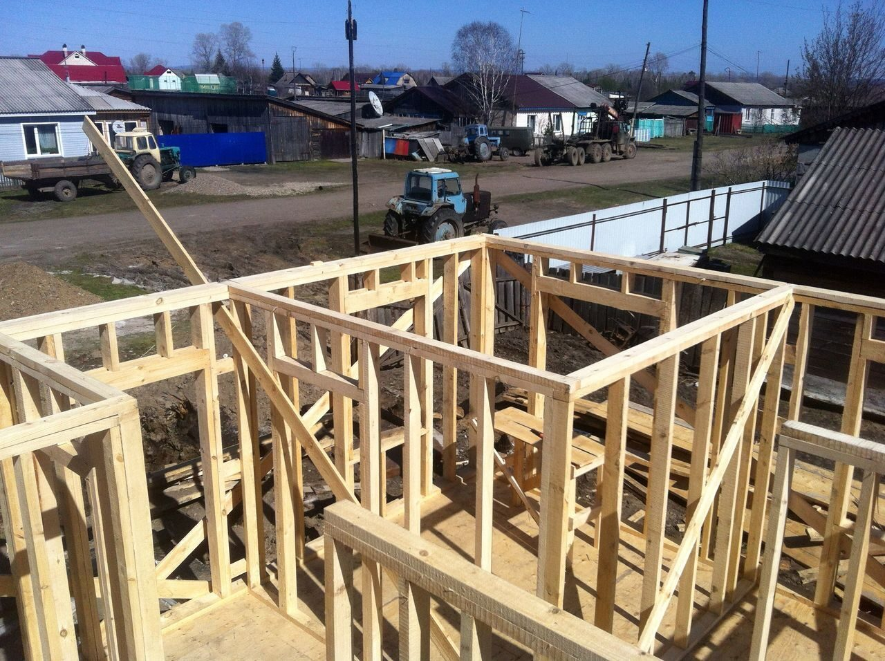 Строю дом своими руками этапов строительства
